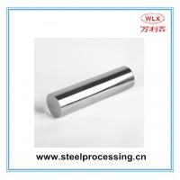 Quality 45# quenched and tempered Nickel and Chrome Plated piston rod for hydraulic cylinder for sale