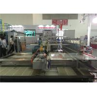 PLC Double Edger Glass Grinding Machine For Upper And Lower Arris