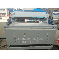 Quality High Speed Automatic Wire Mesh Welding Machine For Black Wire , PLC Control System for sale