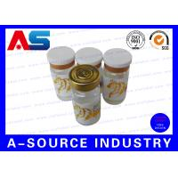 Quality Customized 10ml Vial Labels For Sterile Injection bottles Packaging for sale
