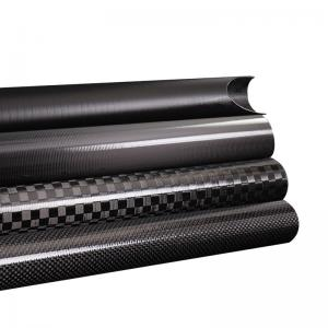 Quality Triangle Epoxy Resin OEM / ODM Carbon Fiber Piping for sale
