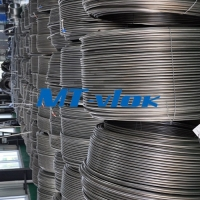 Quality ASTM B704 UNS N08825 Oilfield Coil Tubing Welded Inhibitor Supply Line With PVDF Encapsulation for sale