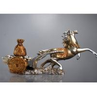 Quality Classic Resin Decoration Crafts Chinese Characteristic Horse And Treasure Style for sale