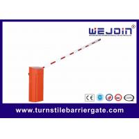 Buy cheap CB01 Commerrcial Variable Frequency Barrier Gate with Straight Boom from wholesalers