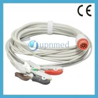 Quality Bionet BM3 five lead ECG Cable with leadwires,8pins for sale
