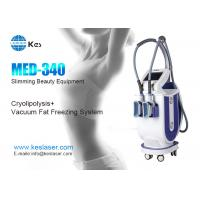 Quality Innovative Cryolipolysis Freeze Fat Reduction Machine With 2 Handles Work Cryotherapy for sale