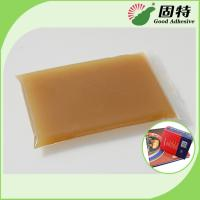 Quality Amber Block Bookbinding Hot Melt Glue For  Book-Facing For Album And Advanced Notebook for sale