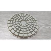 Quality 4  Dry Diamond Polishing Pads For Marble / Concrete / Granite / Stone for sale