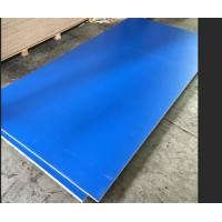 Quality Blue Melamine Commercial Plywood Poplar / Hardwood Core For Indoor Decoration for sale