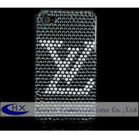 China Mobile Phone Accessories Bling Bling Crystal iPhone 4 Diamond Back Covers on sale