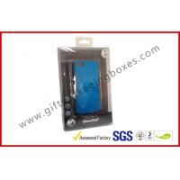 Quality PVC / PET Plastic Clamshell Packaging ,CMYK Printing Iphone Case Box for sale