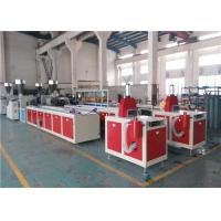 China ABB Inverter PVC Ceiling Panel Extrusion Machine , New PVC Sheet Extrusion Line on sale