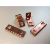 Quality Thick Bended Pure Copper Sheet Metal Bending Dies One Fixed Hole / Adjustable Hole for sale
