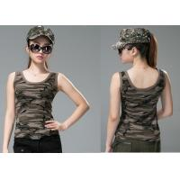 China Comfortable Army Military Dress Uniforms , Sex Womens Camo Vest on sale