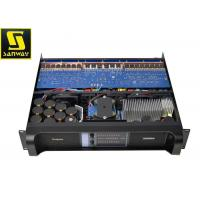 Quality 14000W  Black 2 Channel Mosfet Power Amplifier with Pure Copper for sale