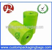 Buy Compostable Green Dog Poop Bags Biodegradable With Side Gusset at wholesale prices