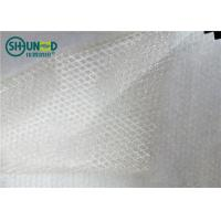 Quality Two Layers Adhesive Fusible Web Net With Non Woven Release Paper For Bonding Clothing for sale