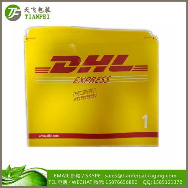 FREE DESIGN) 350x270mm DHL Packing List Envelope, Paper