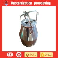 Buy cheap Stainless steel transport milk can in stock SUS304 from wholesalers