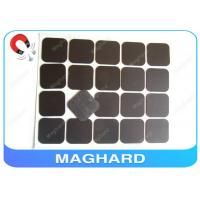 Quality Square Flexible Rubber Magnet Sheets With Adhesive Diecut 4R 45 * 45 * 0.8mm for sale