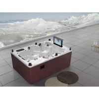 China Monalisa M-3333 whirlpool massage pool outdoor SPA hot tub swim hot tub SPA hot tub with TV swimming tub with DVD on sale