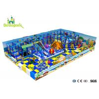 Quality Customized Indoor Soft Playground Anti - Static 2CM Thickness With Protective Web for sale