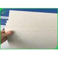 Quality Gray Book Binding Board 1400gsm / 900gsm 25 Inch / 41 Inch Gray Straw Board for sale