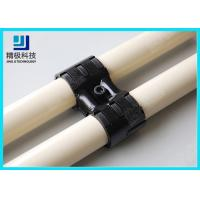 China Adjustable Swivel Metal Pipe Joints For Rotating In Pipe Rack System Black Fitting HJ-8 on sale