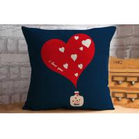 Home decor printed throw pillows for couch , Gardens Deep Seat Cushions Red 40CM