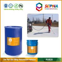 Quality Single Component Self-leveling Polyurethane Slot Filling Adhesive for Airport Runway PU820 for sale