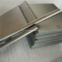 Quality 6mm thickness Ti GR5 Grade5 Titanium alloy metal plate sheet wholesale price for sale