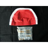 China Defferent colors custom logo swimming caps for long hair to keep hair dry for women on sale
