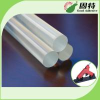 Quality EVA And Viscosity Resin Clear 11mm Glue Sticks For Glue Gun Hot Melt for sale