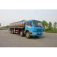 Quality 24.5 cbm Chemical Liquid Tanker Truck 6x4 For logistic Industries for sale