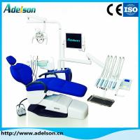 Quality Hot sell air material base dental chair unit LED sense lamp top tool tray for sale