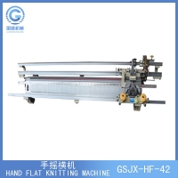 Quality Manual Hand Driven 16G Flat Knitting Machine for sale