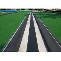 China Black 20 – 35cm Artificial Turf Accessories Strong PP Cloth For Artificial Grass Installation on sale
