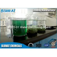 Water Decoloring Agent / Color Removal Chemical Colorless To Yellowish Translucid Liquid