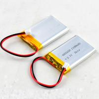 Quality Rechargeable Lithium Polymer Bluetooth Battery 603450 3.7V 1100mAh for Speaker Card for sale