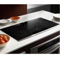 Quality Tempered Black White Ceramic Gas Oven Door Glass For Microwave Oven for sale