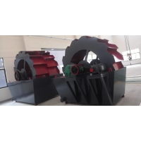 20-180 T/H Sand Washing Machine In Mineral Processing Plant