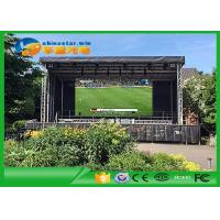 Quality 640Mm x 640mm Waterproof big hire led screen Outdoor , P5 LED Advertising Wall for sale