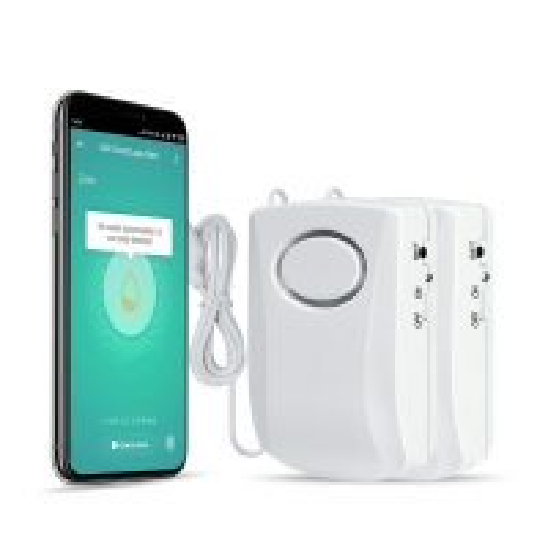 Buy FCC Certificate Smart Home Water Leak Detector , Tuya Water Leak Sensor at wholesale prices