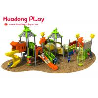 Quality Magic House Series Outdoor Playground With Slide , Outdoor Playground Equipment for sale
