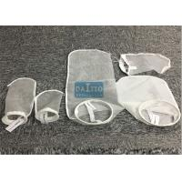 Quality PE / Nylon Filter Mesh Liquid Filter Bags Woven / Nonwoven Fabric 178mm*430mm for sale