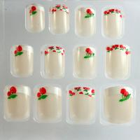 Quality Ivory French Manicure Fake Nails / French False nail professional for sale