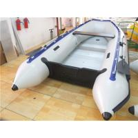 China Pvc Tarpaulin 12 Foot Inflatable Boat , Rigid Inflatable Dinghy For Adult on sale