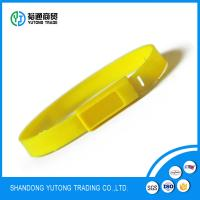 China one time luggage number Plastic Tamper Evident Twist Tight Meter Seal on sale
