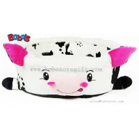 Quality Wholesale Price Plush Stuffed Cow Shape Pet Bed for Puppy Cat Dog for sale