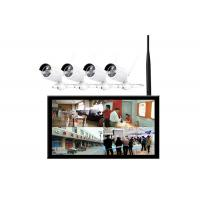 China 300 Cd / M2 10.2 Inch 4 Channel Cctv Lcd Monitor With Wireless Camera on sale